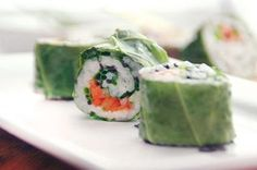 Veggie sushi recipe