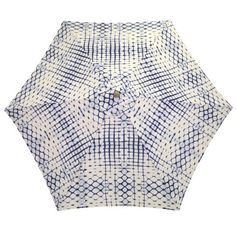 shibori patio umbrel