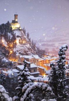 Brisighella Innevata, Italy