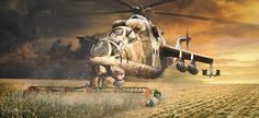 Anytime Anywere : The Mi-24 hind by ~rOEN911 on deviantART