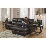Jackson Furniture - Lawson 2 Piece Sectional in Chocolate Leather - 4243-75-42  SPECIAL PRICE: $1,318.00