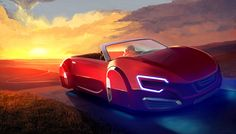Hovering Car by SkipeRcze on DeviantArt