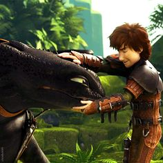 httyd2 ...... hiccup and toothless