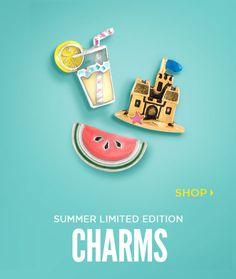 Limited Edition Charms - Origami Owl Custom Jewelry CharmingCarlas.origamiowl.com