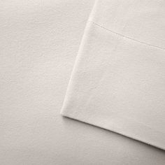 Micro Flannel Deep-Pocket Sheets, White Cal King