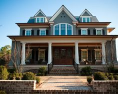 Craftsman Exterior Design Grey Color Design, Pictures, Remodel, Decor and Ideas - page 6