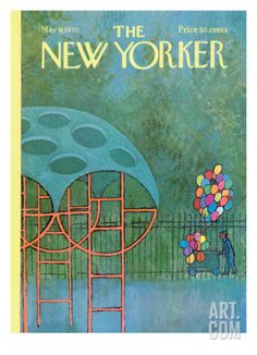 The New Yorker Cover - May 9, 1970 Regular Giclee Print by Charles E. Martin at Art.com