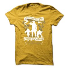Veterans T-Shirt - № If You Cant Stand Behind Our Troops, Feel ᐊ Free To Stand In Front Of ThemVeterans T-Shirt - If You Cant Stand Behind Our Troops, Feel Free To Stand In Front Of Themveterans, vietnam, warriors