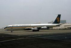 British Caledonian, Boeing 707-300C by Ron Monroe, via Flickr