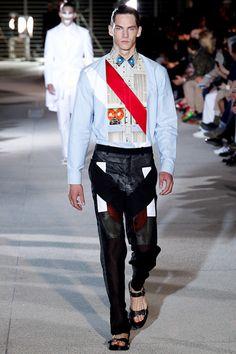 SPRING 2014 MENSWEAR Givenchy