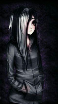 Manga Anime Girl, Manga Love, Sad Anime, Crying Girl Drawing, Animes Emo, Facial Expressions Drawing, Arte Emo, Demon Drawings, Gothic