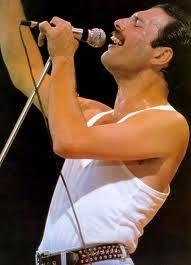 Freddie Mercury. An incredible singer and musician.