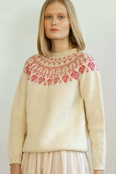 Ravelry: Tiiraluoto sweater pattern by Lea Petäjä Mother Daughter Projects, Nordic Sweater, 4 Ply Yarn, Urban Looks, Pattern Library, Sweater Outfits, Pulls, Knitting Patterns, Knitting Ideas