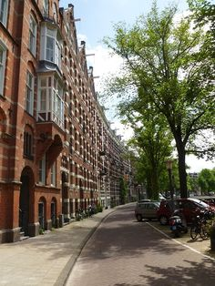Homes in Amsterdam - my home away from home - love - love Amsterdam
