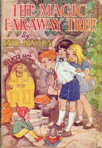 The Magic Faraway Tree by Enid Blyton. One of my most cherished books from childhood. Those were the days when children still read about magical places, flawless worlds, innocent adventure and children safely exploring forests and fields before going home to glasses of home made lemonade and freshly baked cookies.