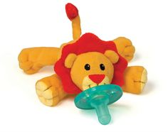 WubbaNub Infant Pacifier - Little Lion