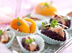 Découvrez la recette Fruits déguisés au foie gras sur cuisineactuelle.fr.