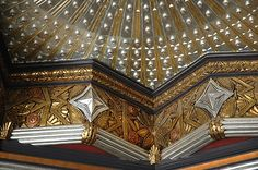 The Pantages Theater - 6233 Hollywood Boulevard - Marcus Priteca - restored exterior lobby