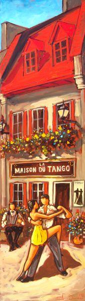 ClaudeBonneau - Copyrigth Tango, Les Oeuvres, Paris France, Images, Scrapbooking, Passion, Paintings, Fictional Characters, Inspiration