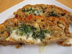 Florentine Turkey Meatloaf - to make g-free use crushed rice Chex cereal instead of bread crumbs.