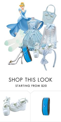 """Lolita-fy Cinderella"" by xxshemurrqueenxx ❤ liked on Polyvore featuring Disney"