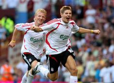 Steven Gerrard Dirk Kuyt
