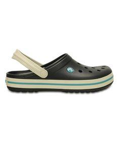 a51ad2d41bf Crocs Black   Stucco Crocband™ Clog - Unisex
