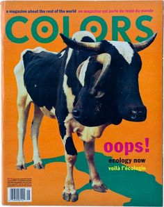 "cMag097 - Colors Magazine cover ""Ecology Issue"" / Tibor Kalman / Nº 6 / March 1994"