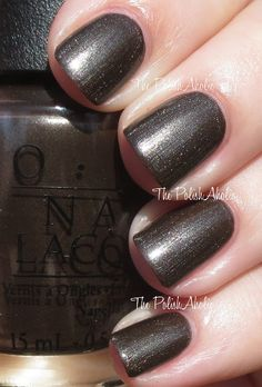 Warm Me Up is a charcoal base with a silvery pearl shimmer. I