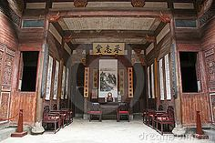 Photo about Old chinese house. this photo was taken at a famous beautiful chinese village whose name is hongcun. Image of display, china, province - 8923056 Furniture Deals, New Furniture, Furniture Design, Chinese Courtyard, Chinese Buildings, Chinese Interior, China Architecture, Oriental, Chinese Furniture