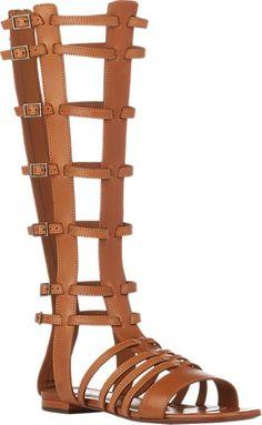 Saint Laurent Strappy Gladiator Sandals - Flats - Barneys.com