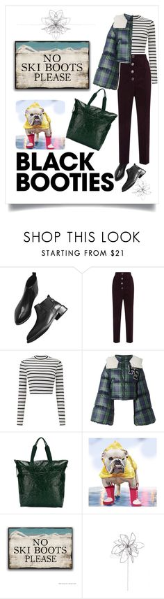 """these boots are made for walking"" by lolla-cher ❤ liked on Polyvore featuring Temperley London, Miss Selfridge, Puma, Rick Owens, Blume, blackboots and nancysinatra"