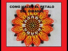 PASO SIETE COMO HACER EL PÉTALO DEL GIRASOL - YouTube