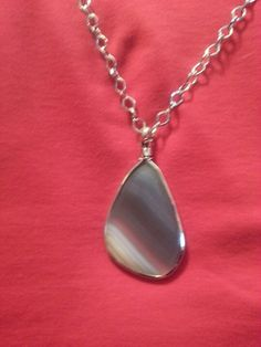 Cookie Lee jewelry agate necklace