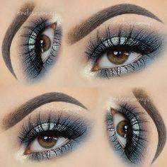 Hey my Loves! Sparkly Blue Smokey Eyes! TUTORIAL Link in my Bio! Olá meus Amores! Sparkly Blue Smokey Eyes! TUTORIAL Link na minha Bio! ✨ False Eyelashes @velourlashesofficial TDotOooh ✨ Eyebrows Brow Expert Kit @sigmabeauty - Use the code MELISSASB for 10 % off ✨ Metallic Eyeshadows @anastasiabeverlyhills #melissasamways #MUA #velourLashes # #anastasiabeverlyhills #loraccosmetics #maccosmetics #beautyguru #vegas_nay #hudabeauty #melformakeup #fashiondimes #makegirlz #wakeupandmakeup