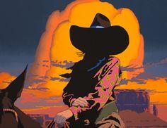 """Blazing Cowgirls III"", oil on canvas, 35"" x 45"", Aug. 2013."