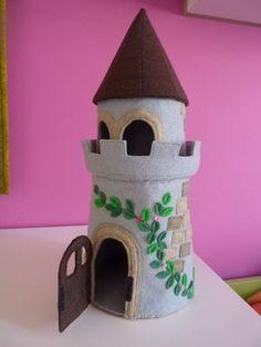 Sweet felt castle