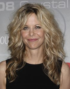 meg ryan hairstyle | Meg Ryan Hairstyles.  I love the blonde and the relaxed curl