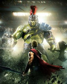 "12.1k Likes, 17 Comments - The Geek Realm ✌ (@thegeekrealm) on Instagram: ""Thor Ragnarok by @Camw1n @thegeekrealm ----------------------- #Hulk #Thor #ThorRagnarok"""