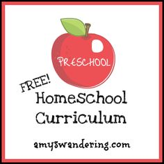 Homeschool for Free: Preschool  Kindergarten