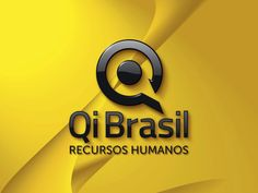 Versão ilustrada do logotipo criado pela Ópera para a Qi Brasil RH de São Paulo | SP.