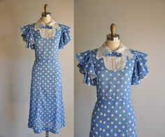 1930's cotton dress