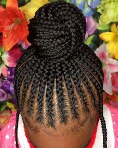 Little Black Girls Braids, Black Little Girl Hairstyles, Black Kids Braids Hairstyles, Natural Braided Hairstyles, Natural Hairstyles For Kids, Black Girl Braids, Braids For Black Hair, Natural Hair Styles, Black Hairstyles For 12 Year Olds