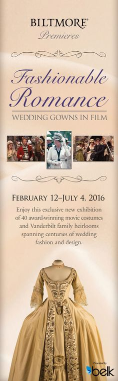 2016 Loved this❤️  See iconic costumes from classic films that come to life inside America's largest home. ....Pride & Prejudice , Sense & Sensibility, etc.  (July 2016)
