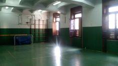 La palestra della Scuola.