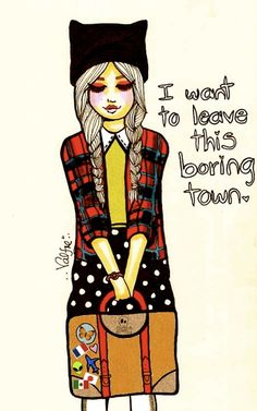 Valfre - I want to leave this boring town