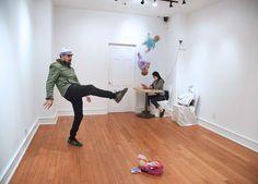 Audience as art at monthlong art exhibit in Midtown-slide0