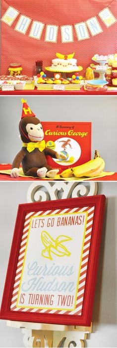 How to throw a stylish curious george party!