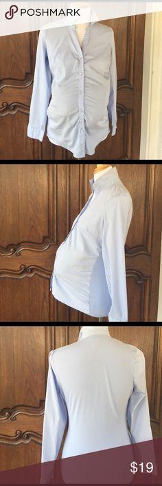 Motherhood, Top, Light Blue Color, Size SM Motherhood, Maternity Top, Light Blue Color, Size SM Pre-owned,good condition Motherhood Maternity Tops Blouses