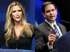 """In a column published late Wednesday, conservative author Ann Coulter ripped Sen. Marco Rubio (R-FL) for his support of the """"Gang of Eight"""" immigration reform bill. """"When Republicans start lying like Democrats, you can guess they are pushing an idea that's bad for America,"""" Coulter wrote in a piece headlined: """"If Rubio's Amnesty is So Great, Why Is He Lying?"""""""